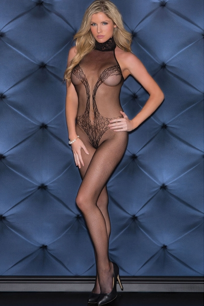 Lacy Vixen Fishnet Bodystocking
