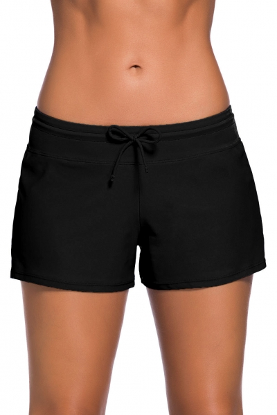 Black Women Swim Boardshort zekela.com