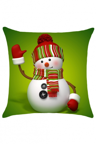Lovey Snow Child Fashion Christmas Cushion Cover