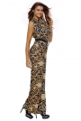 black-yellow-tapestry-print-belted-jumpsuit