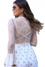 white-sheer-lace-tie-front-crop-top